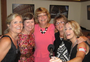 Mary, Nanci, Peggy, Theresa - AHS Reunion